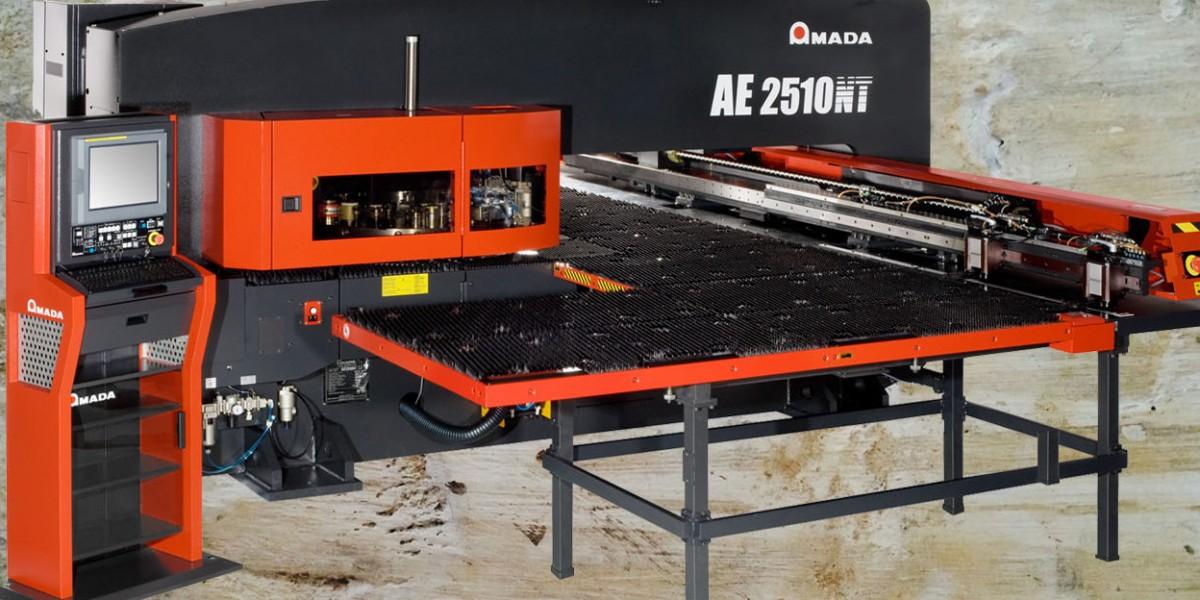 Amada AE 2510NT machine in Chicago